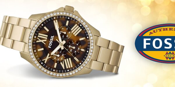 Čas v elegantním kabátě - dámské hodinky Fossil