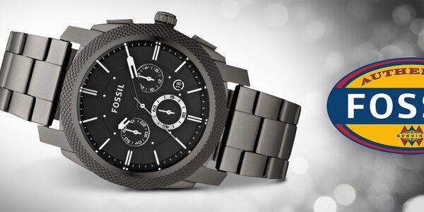 Čas v elegantním kabátě - pánské hodinky Fossil