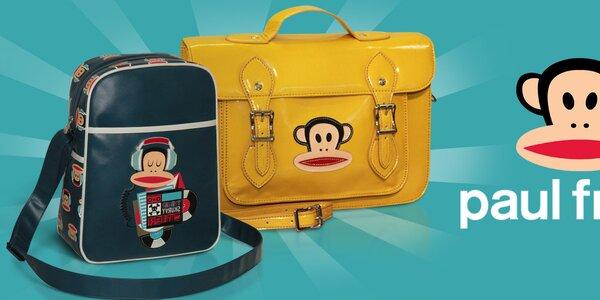 Barevné tašky a batohy Paul Frank - ta správná opičárna!