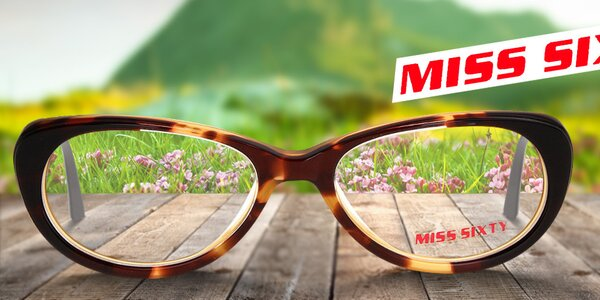 Nápadité obroučky pro váš ostrý zrak Miss Sixty již od 399,-