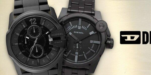 Diesel - kvalitní ocelové hodinky pro muže