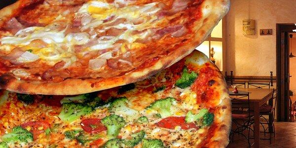 2× pizza dle vašeho výběru