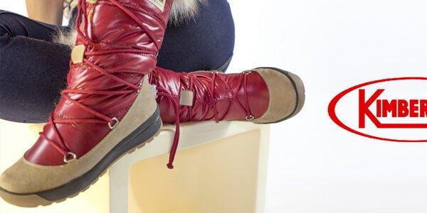 Dámské boty Kimberfeel - do hor i do města