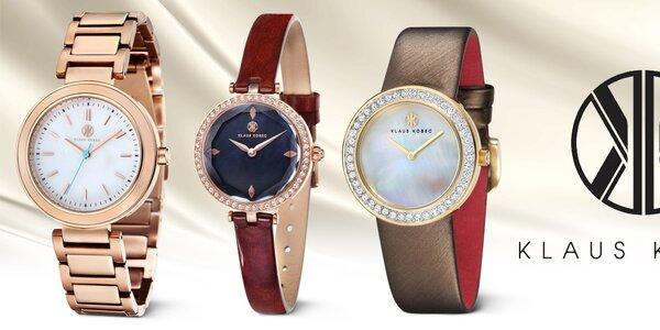 Klaus Kobec - skvostné hodinky pro dámskou ručku