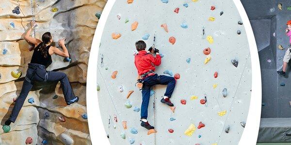 Kurz lezení na stěně v Holešovicích pro 1-2 osoby
