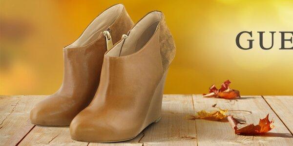 Moderní městská obuv pro náročné dámy Guess
