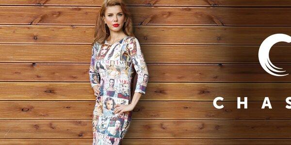 Hravá dámská móda plná barev a vzorů Chaser
