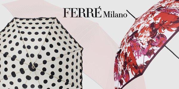 Schovejte se dešti - dámské deštníky Ferré Milano
