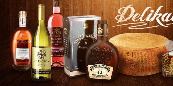Vína a delikatesy pro lahodné podzimní večery
