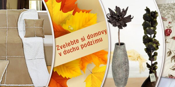 Vpusťte barvy podzimu do vašeho domova