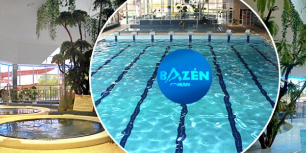 Balíček vstupů do plaveckého bazénu v Jablonci nad Nisou