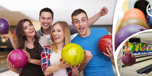 Hodina bowlingu v Boby centru Brno