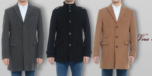 Pánské vlněné kabáty Vera Ravenna
