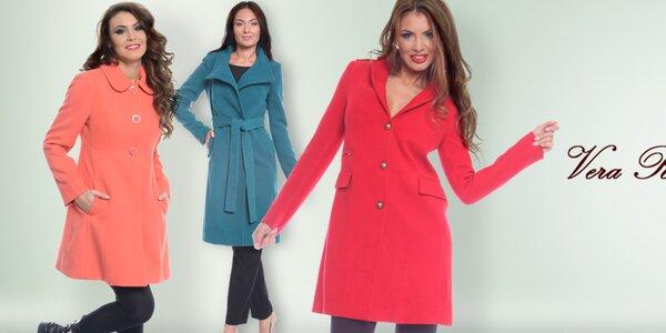 Elegantní dámské kabáty Vera Ravenna