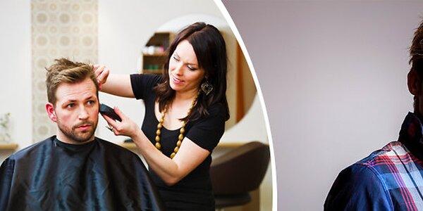 Pánské stříhání včetně mytí a závěrečného stylingu