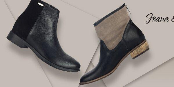 Luxusní kožené boty pro náročné Joana and Paola