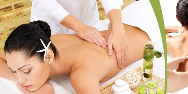Breussova masáž v délce 50 minut - ulevte svým zádům