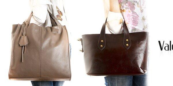 Kožené dámské kabelky a batůžky Valentina Italy