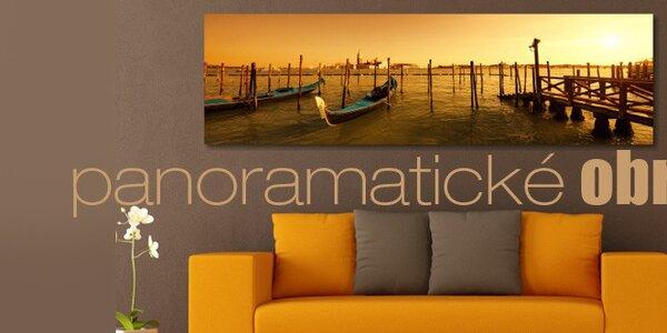 Nádherné panoramatické obrazy na plátně