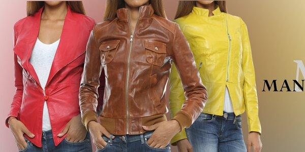 Luxusní dámské kožené bundy a saka Mangotti