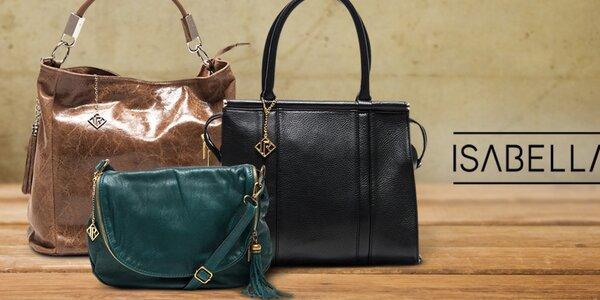 Dokonalé kožené kabelky pro dámy Isabella Rhea