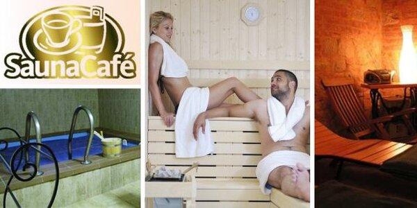 249 Kč za DVĚ hodiny v privátní sauně až pro 6 osob.
