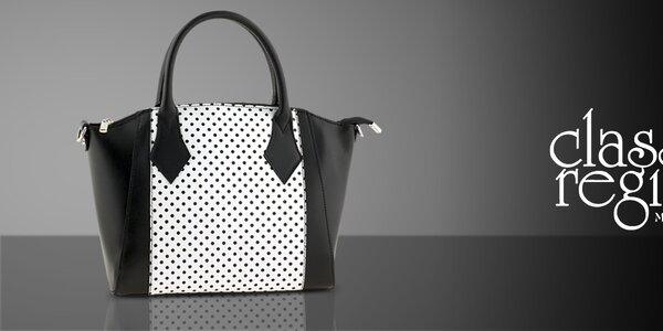 Krásné kožené kabelky Classe Regina