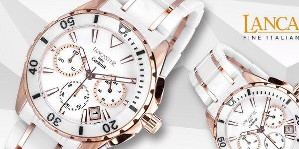 Skvostné dámské hodinky Lancaster