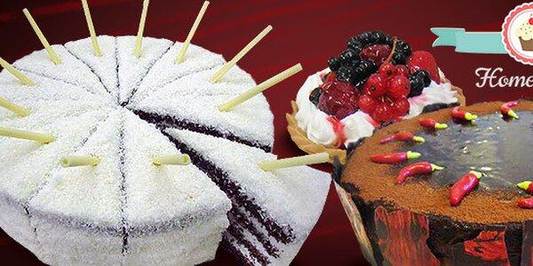 Lahodné domácí dorty z nejlepších ingrediencí