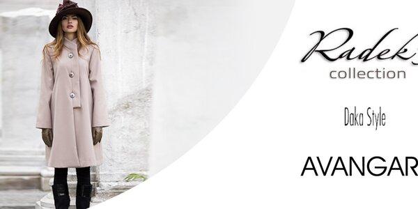 Dámské kabáty, šaty a další skvělé kousky značek Radek´s, Daka, Avangard