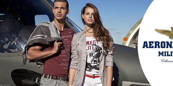 Stylová dámská móda Aeronautica Militare