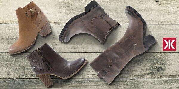 Stylové dámské boty a kozačky Drastik
