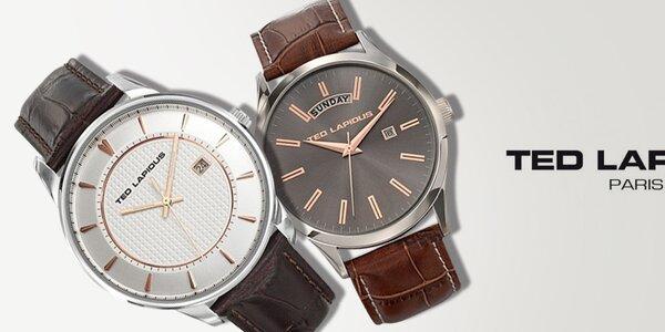 Minimalistická elegance - pánské hodinky Ted Lapidus
