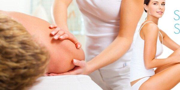 Ruční lymfatická masáž těla či obličeje a dekoltu