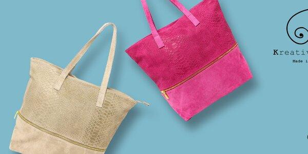 Elegantní i stylové kožené kabelky Kreativa Bags