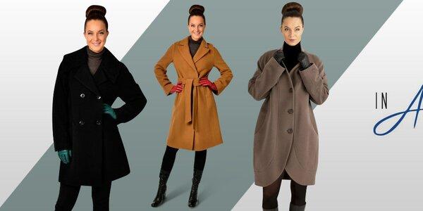 Slušivé dámské kabáty a saka inAvati, Tik Tu