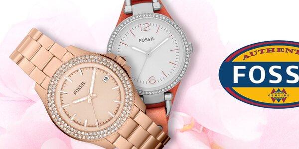 Fossil - stylové dámské hodinky a šperky