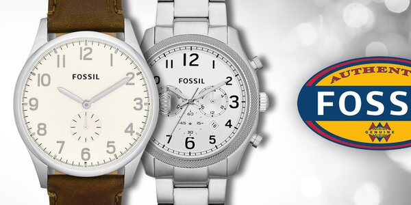 Fossil - elegantní a stylové pánské hodinky
