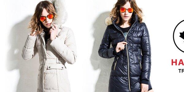 Šmrncovní dámské kabáty a bundy Halifax