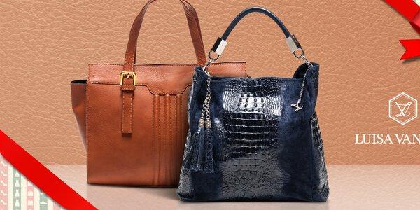 Elegantní kožené kabelky Luisa Vannini