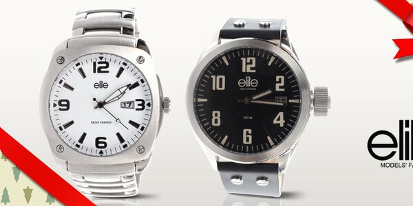 Elite - pánské hodinky, co mají styl
