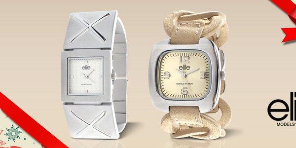 Elite - dámské hodinky, co mají styl