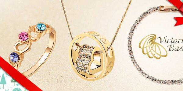 Skvostné šperky s krystaly Victoria de Bastilla