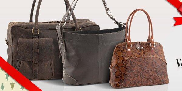 Dámské kožené kabelky a tašky Valentina Italy