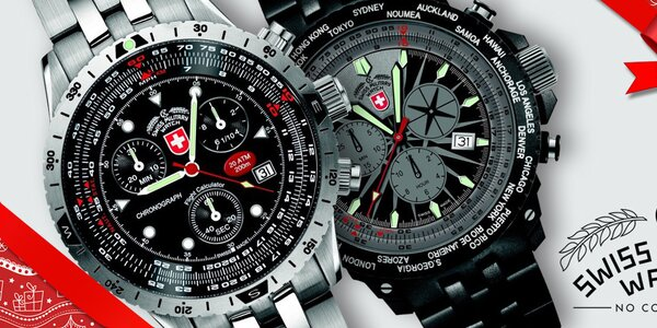 Švýcarské armádní hodinky Swiss Military