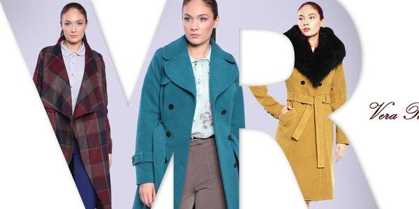 Půvabné dámské kabáty Vera Ravenna
