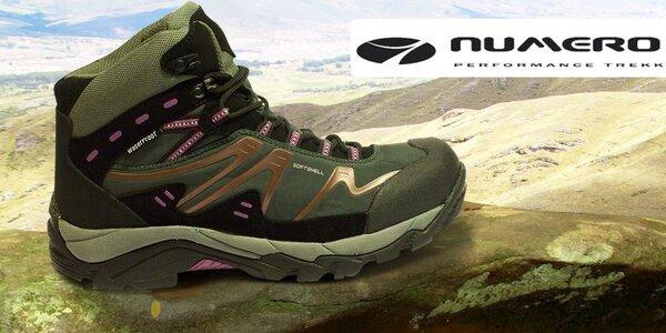 Pohodlné outdoorové boty pro ženy Numero Uno