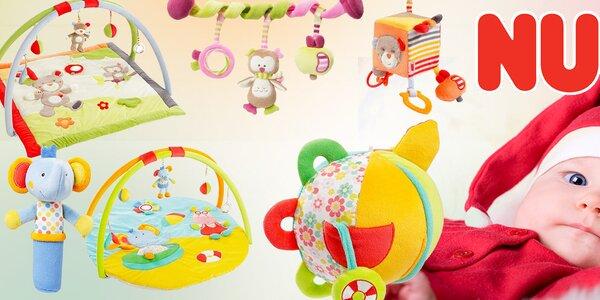 Hračky Nuk pro rozvoj vašeho miminka