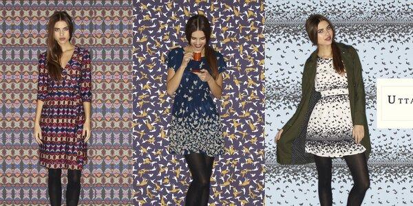 Dámské vzorované šaty a svetříky Uttam Boutique