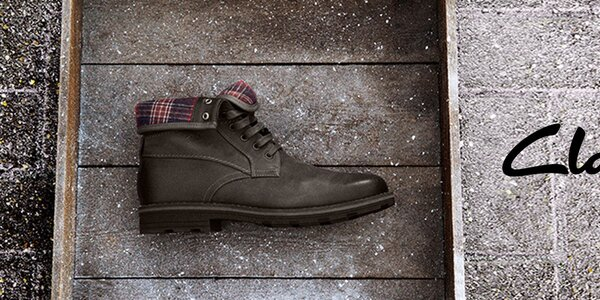 Obouvejte kvalitu - pánské boty Clarks